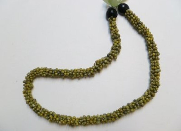 Green Mango Shell Lei/Necklace.