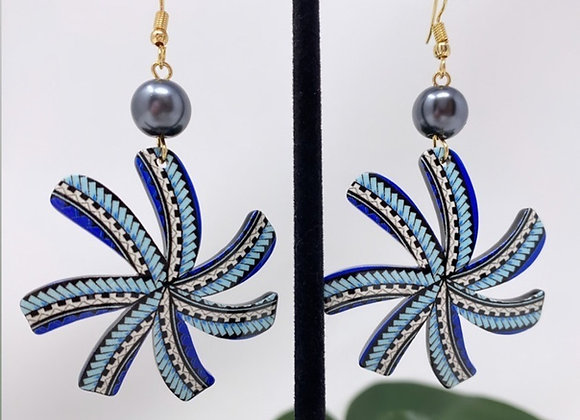 Tribal Tiare Tropical Earrings