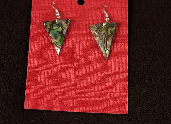 Small Inlay Paua / Abalone Shell Earrings