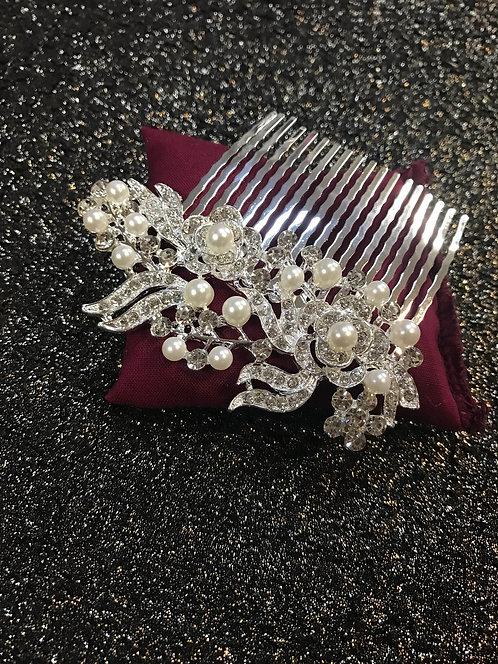 ROSETTE wedding hair comb