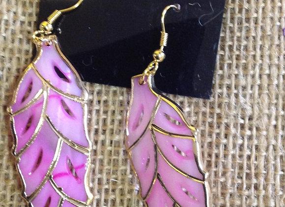 Genuine Sea Shell Earrings