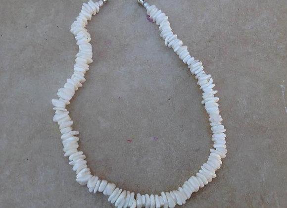 Hawaiian Puka Shell Necklace -Kids/Teens Size