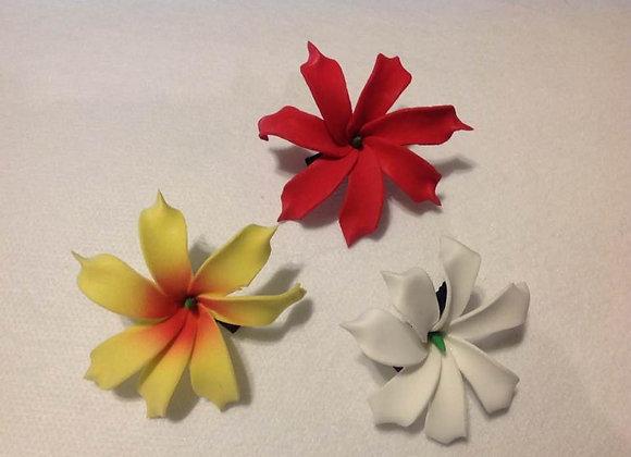 Tiare Flower Clip