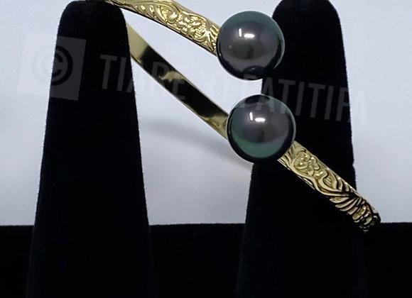 Hawaiian Heirloom 14k Gold Filled Bracelet