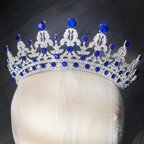 Queen Mary Tiara - Sapphire Blue