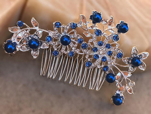 "The ""Something Blue"" IVY Bridal Comb"