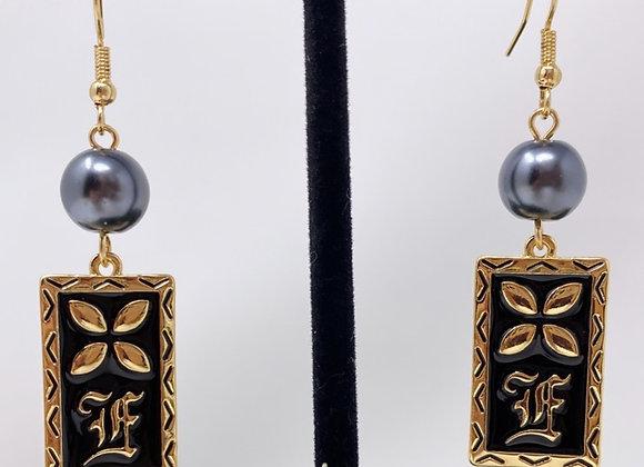Hawaiian Tiare Plank Earrings