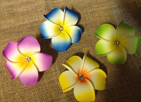 Hawaiian Plumeria Or Frangipani Foam Flower set