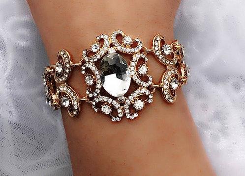 SELENE Swarovski Encrusted Bracelet