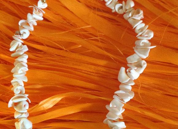 White Sea Shells Necklace