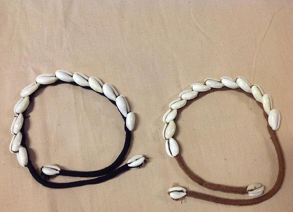 Cowrie Shell Bracelet/Anklet/Choker