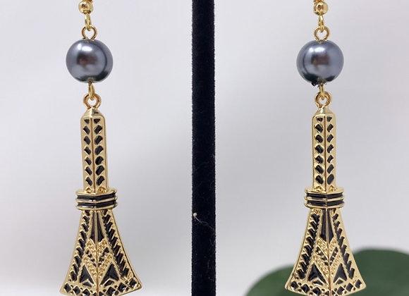 Hawaiian Tribal Tower Earrings