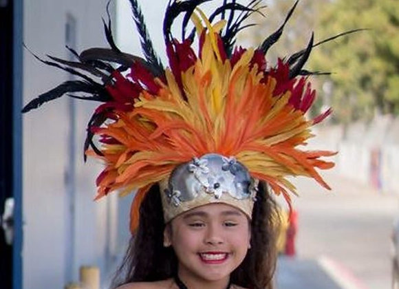 Tahitian & Rarotongan/Cook Islands Headdress/