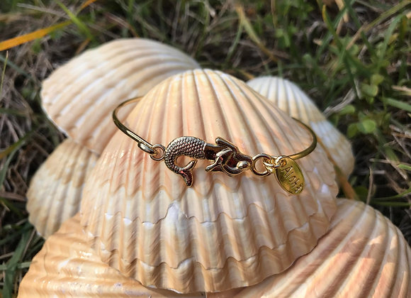 MERMAID Cable Bracelet in GOLD