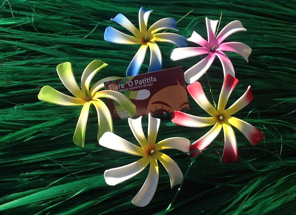 Ombre Tiare Flower Pick