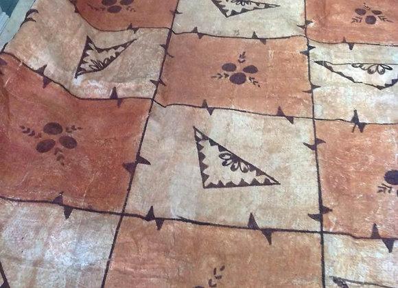 "24""x18"" Authentic Polynesian Tapa Cloth Pieces."