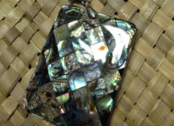 Inlay Abalone/Paua MOP Shell Necklace Or Pendant