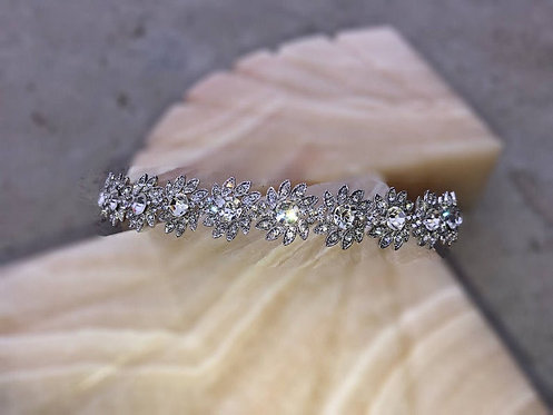 The AINSLEY Swarovski Bridal Headband