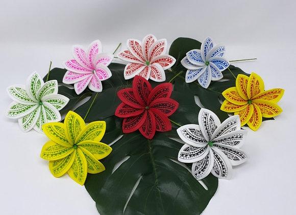 Tribal Tropical Flower