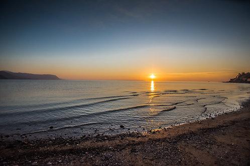 Sunset at West Shore Llandudno
