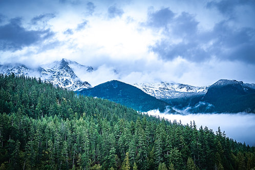 Blackcomb Mountain British Colombia Canada