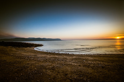 Sunset at West Shore Llandudno