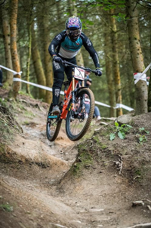 Danny Hart at Revolution Bike Park, Wales