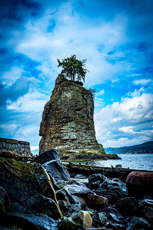 Siwash Rock Vancouver Canada