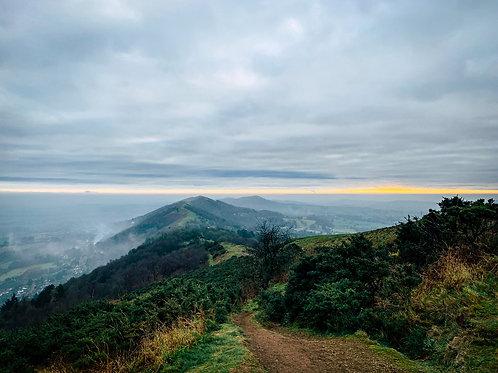 The Ridge Line in the Mist Malvern