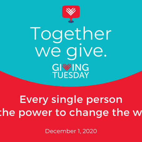 #GivingTuesday 2020 has arrived!