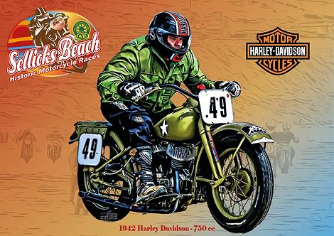 49 - 1942 Harley Davidson
