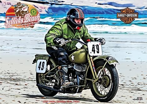 49 - 1942 Harley Davidson WLA 750cc