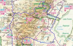 Map Gammon Ranges