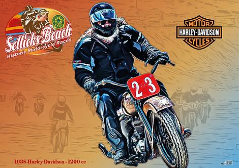 23 - 1938 Harley Davidson