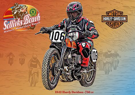106 - 1942 Harley Davidson