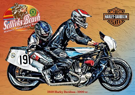 191 - 1959 Harley Davidson