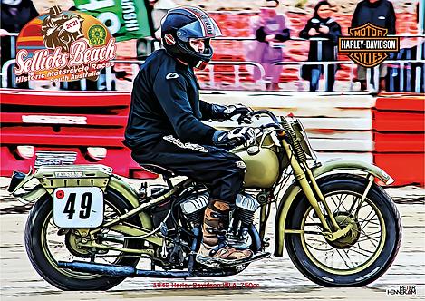 49 - 1942 Harley Davidson WLA 750cc 2021