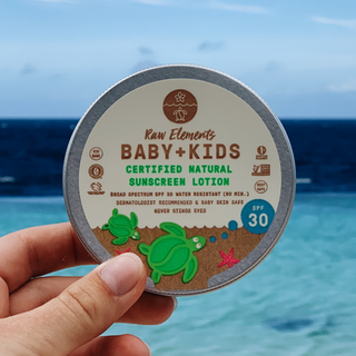 Raw Elements - Baby+Kids Sunscreen Lotion - SPF30