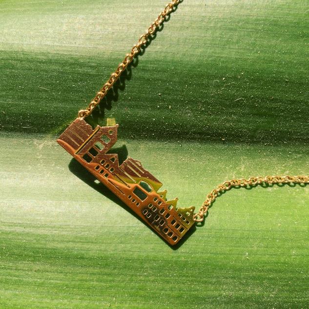 The Curaçao Handelskade Necklace