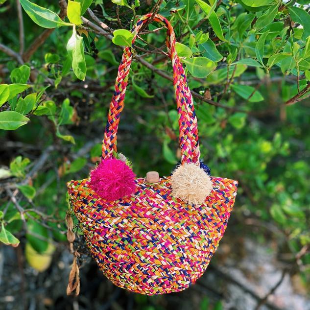 BAGT - Panier Kandy Mini Bag - Rainbow