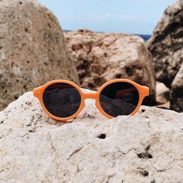 IZIPIZI - Baby Sunglasses - Orange Firework