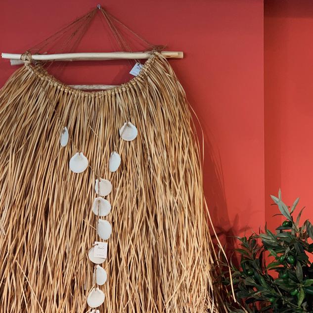 Wall Mat Palm Leaf Hanger