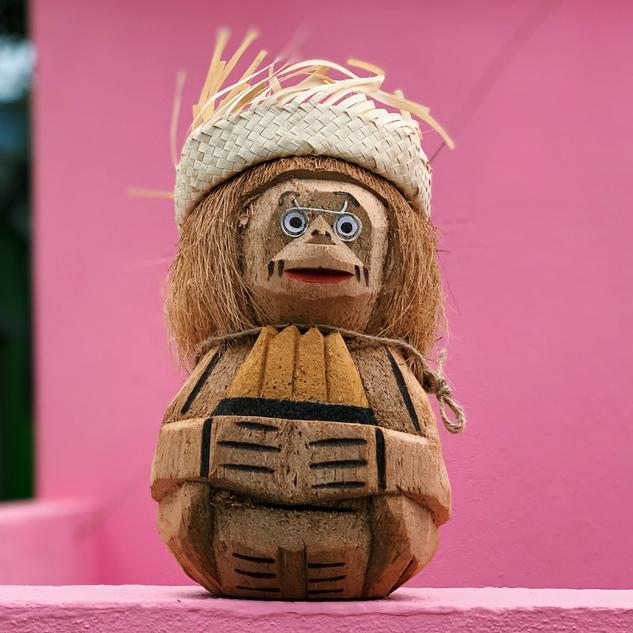 Coconut Monkey - Bananas