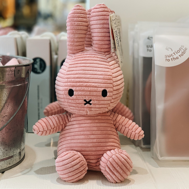 Nijntje Corduroy Toy - Pink