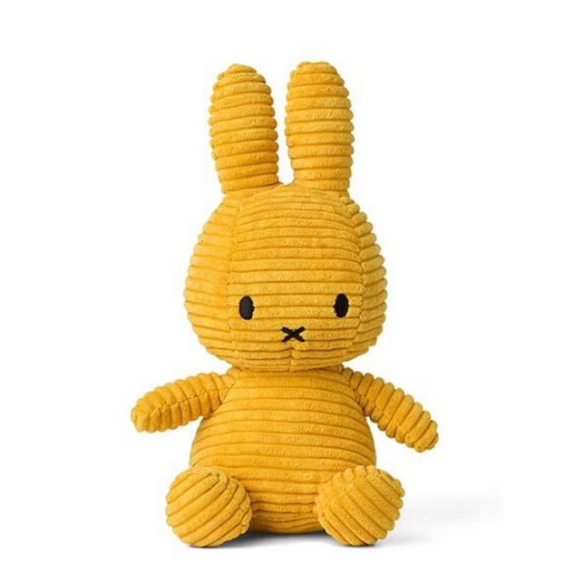 Nijntje Corduroy Toy - Mustard