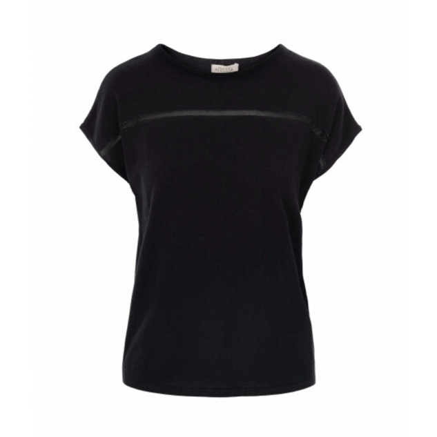 ZUSSS - Fine Knitted Top - Black