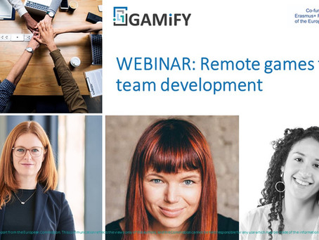 WEBINAR: Remote games for team development