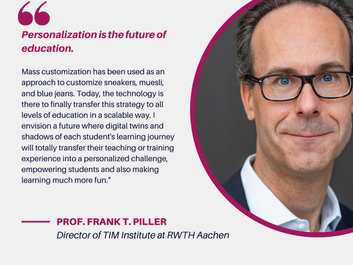 Prof. Frank T. Piller on the Future of Teaching and Coaching for CIE