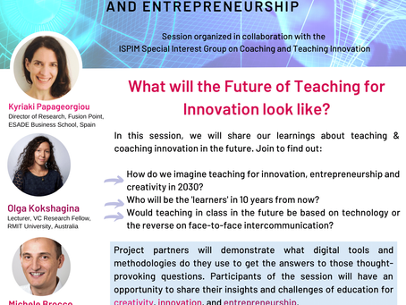 What will the Future of Teaching forInnovation look like?