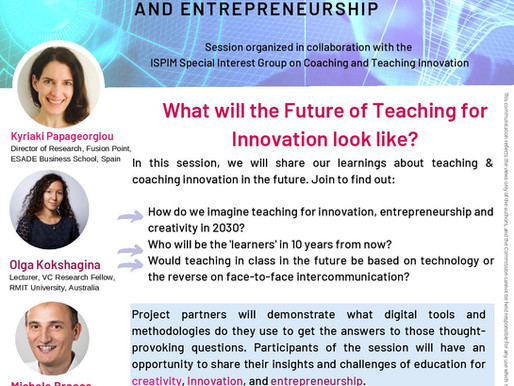 What will the Future of Teaching for Innovation look like?